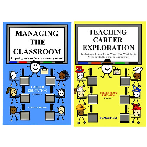 ***DIGITAL BUNDLE*** Managing the Classroom and Teaching Career Exploration