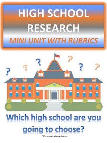 High School Research