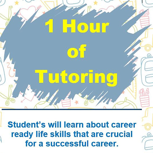 1 Hour of Tutoring with Career Ready Education