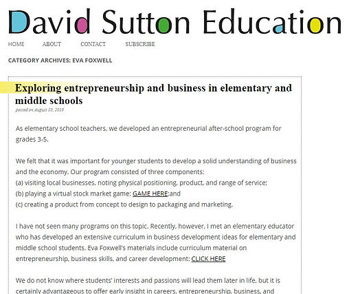 Dave Suttons Article.JPG