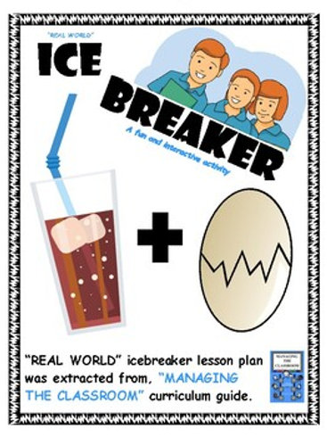 Icebreaker with Lesson Plans