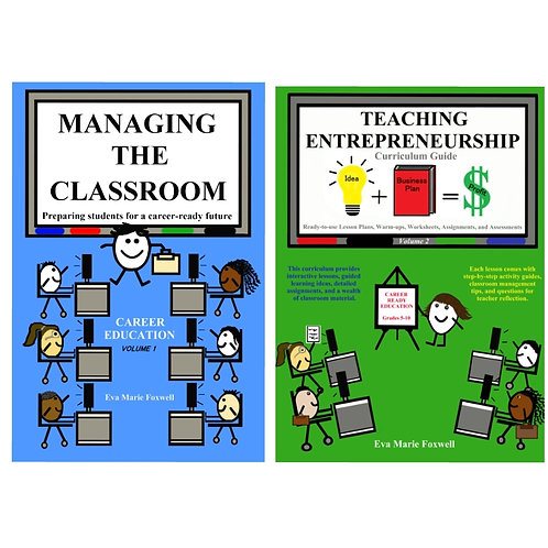 ***BUNDLE*** Managing the Classroom and Teaching Entrepreneurship (Print format)