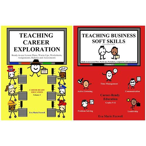 ***DIGITAL BUNDLE* Teaching Career Exploration and Teaching Business Soft Skills