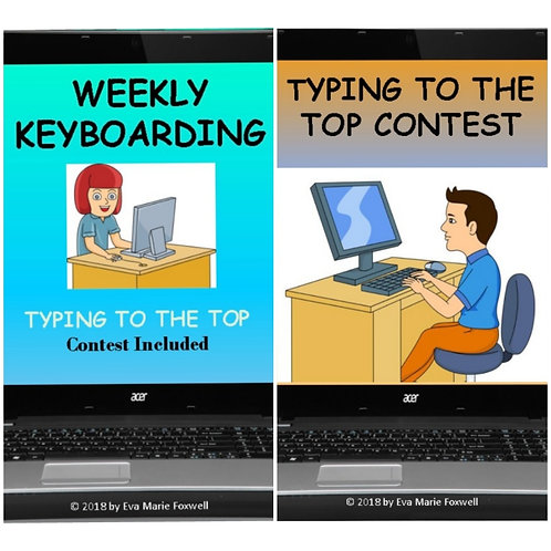 ***BUNDLE*** Weekly Keyboarding and Typing Contests