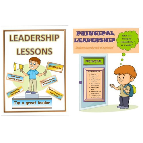 ***BUNDLE*** Leadership Lesson Plans and Simulating Leadership as a Prinicpal
