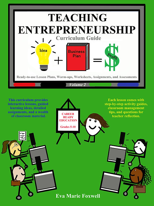 FREE PREVIEW and LESSONS Teaching Entrepreneurship Unit A Lessons 1-2