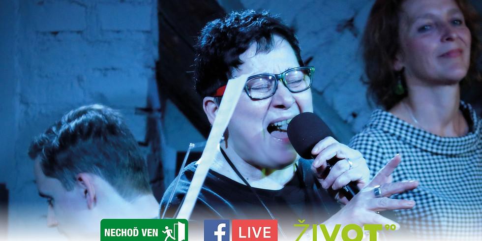 LIVE: Zlatka Bartošková - šanson