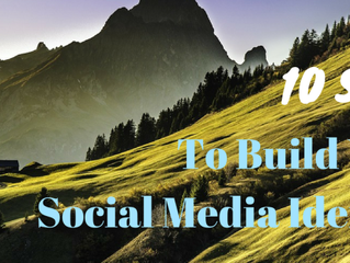 10 Steps to Build Your Social Media Presence