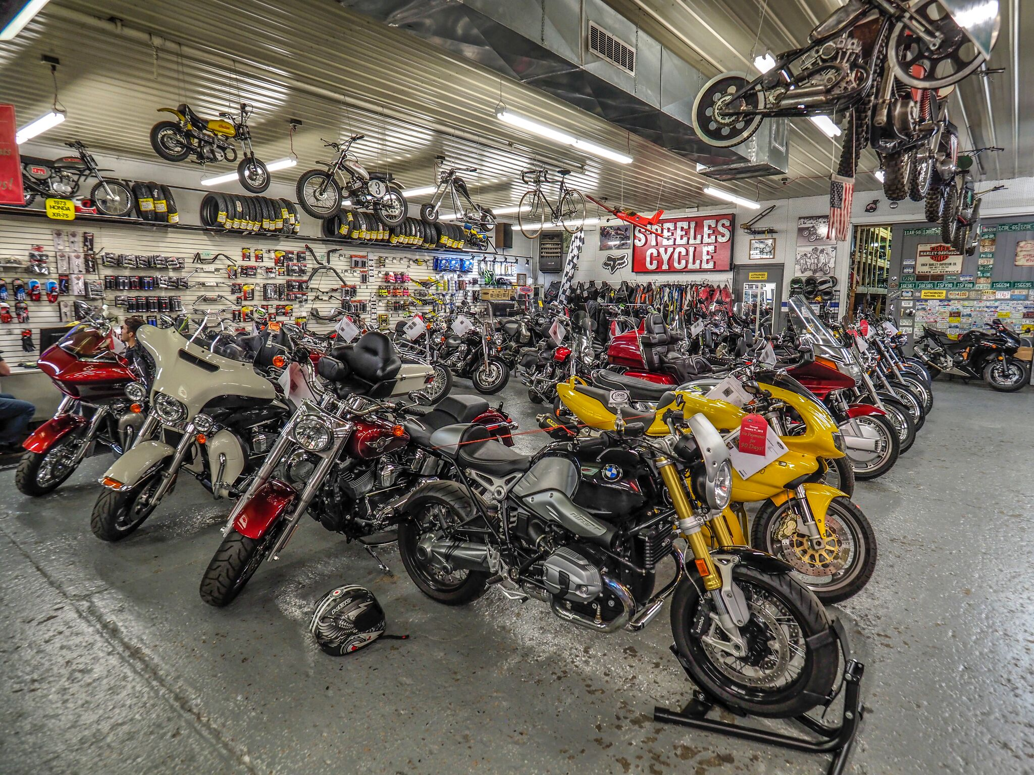 Used Motorcycles And Parts United States Steeles Cycle