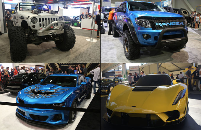 Diamond Dan's SEMA auto show