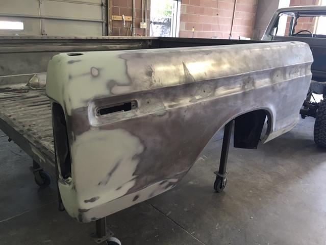 Tailight panel rebuild