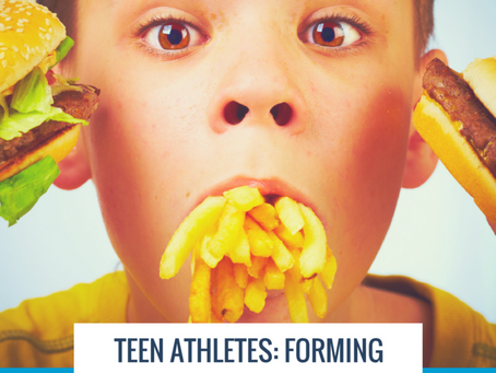 Teens Athletes: Forming Healthy Habits Early to Improve Health & Performance