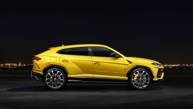 A Lambo SUV? Say it IS so!