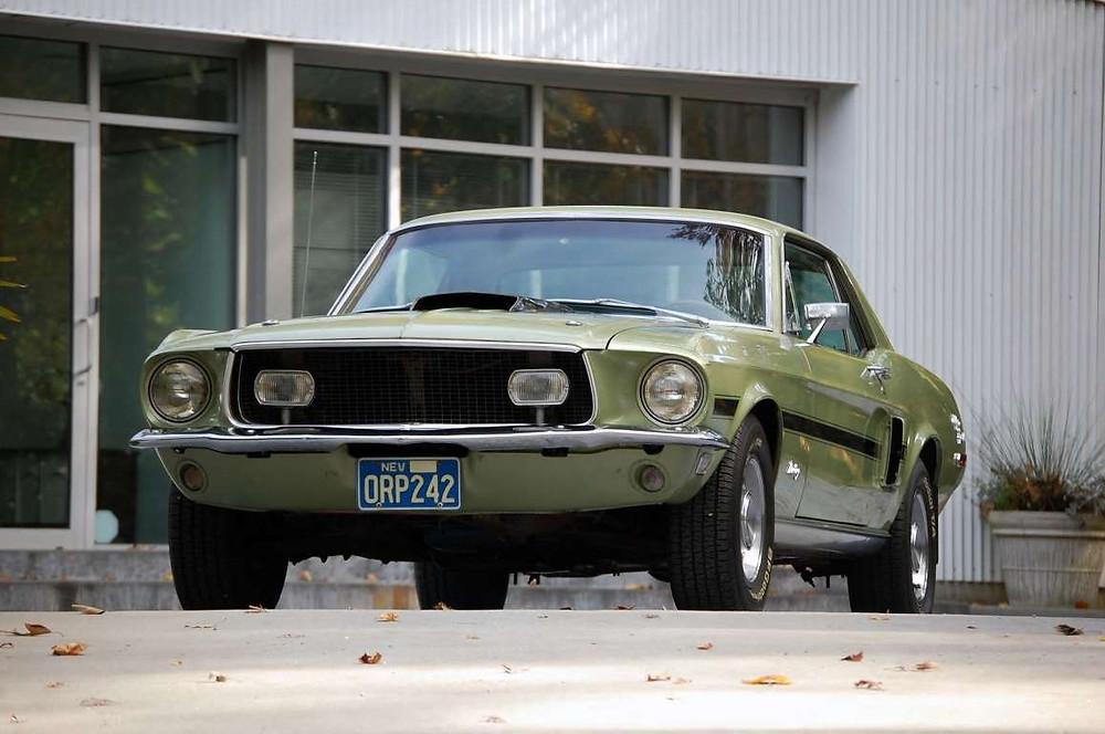 Diamond Dan's 1968 Mustang California Special