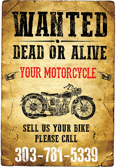 Wanted Used Motorcycles