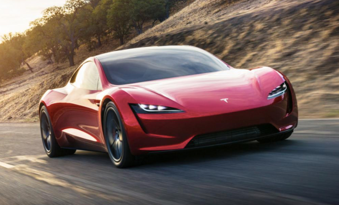 The New Speed Demon Tesla Roadster