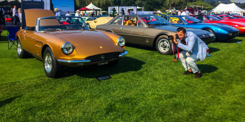 Monterey and Pebble Beach car shows
