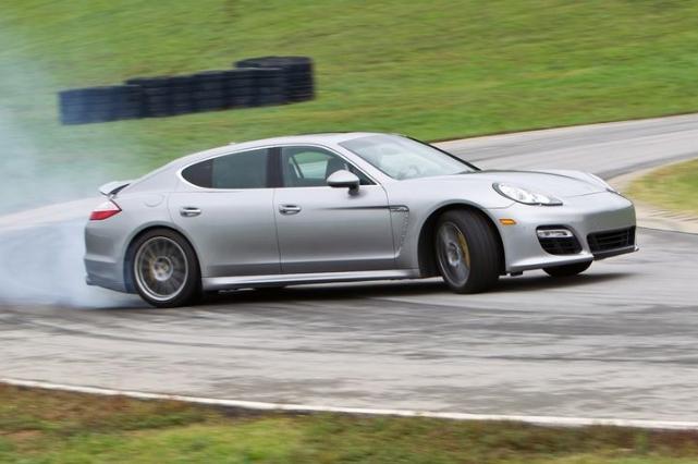 Porsche Panamera Throws Down