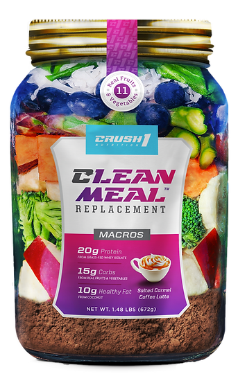 Organic Food Macros Clean Meal Replacement