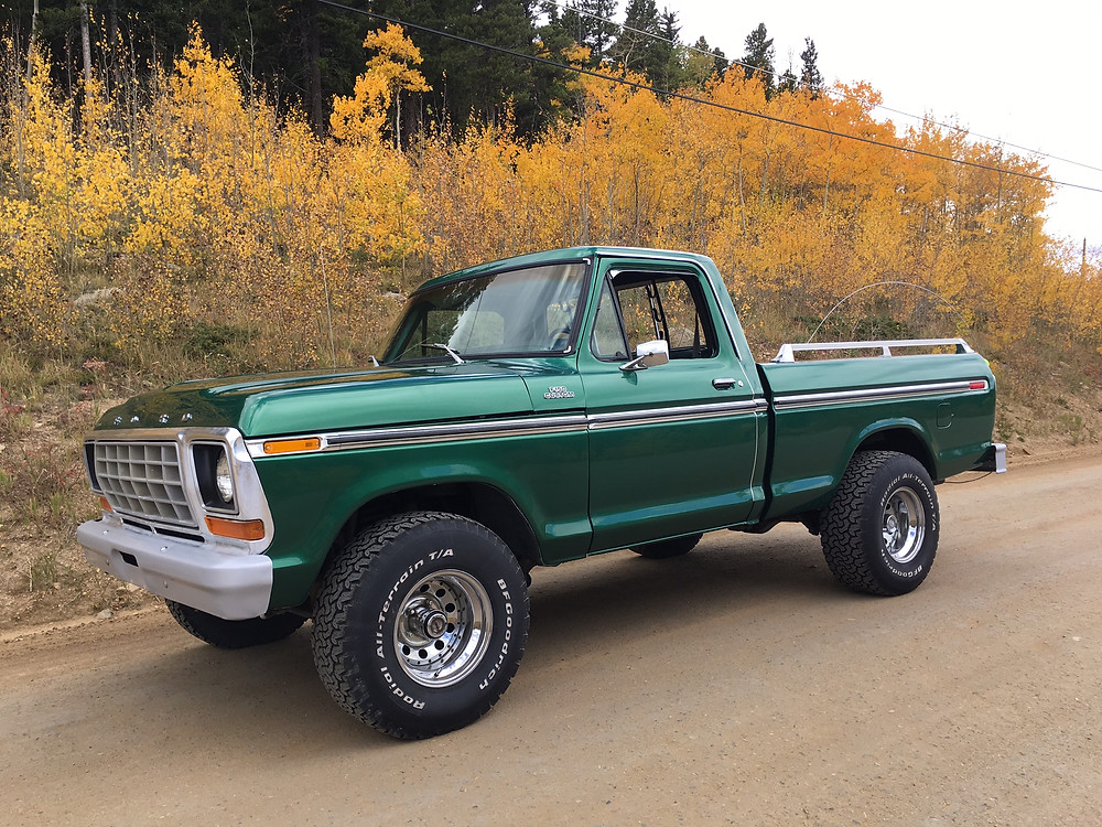 Diamond Dan 1978 F150 Custom