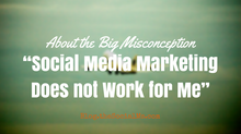 Think Social Media Doesn't Work? Think Again!