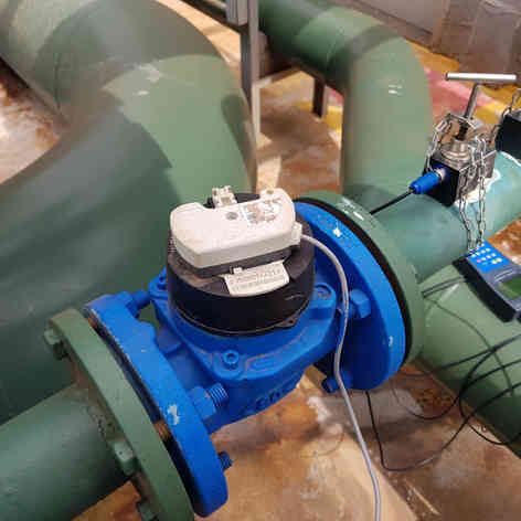 Calibração em hidrômetro