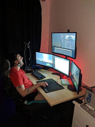 me and my old setup