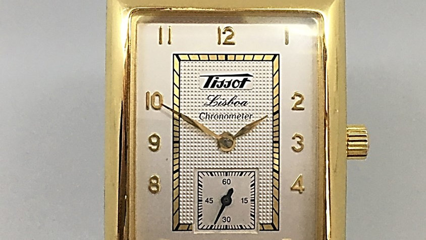 Tissot Lisboa Ouro
