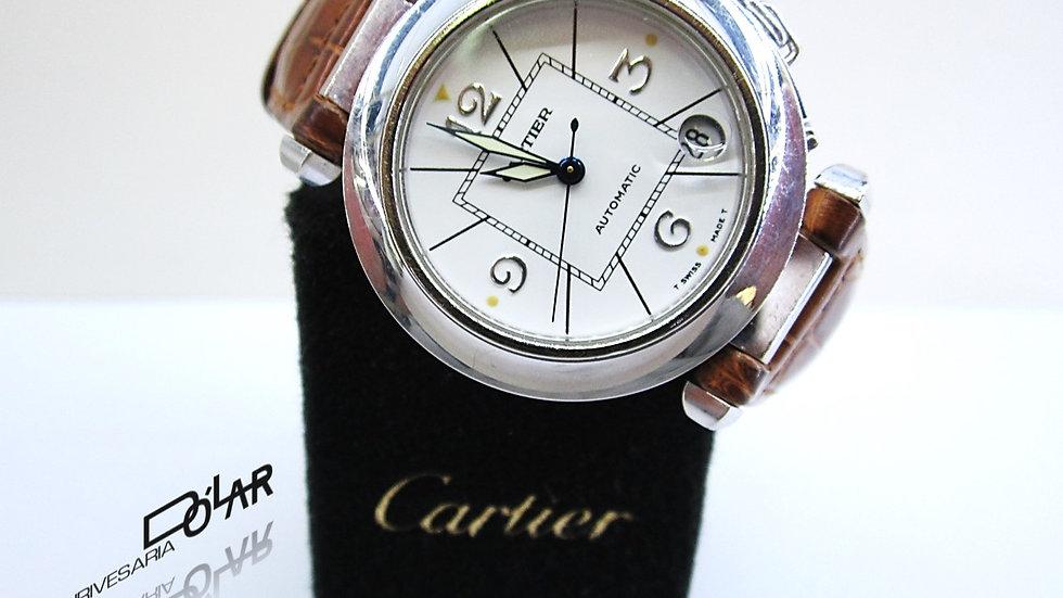 Cartier Pasha  White Gold