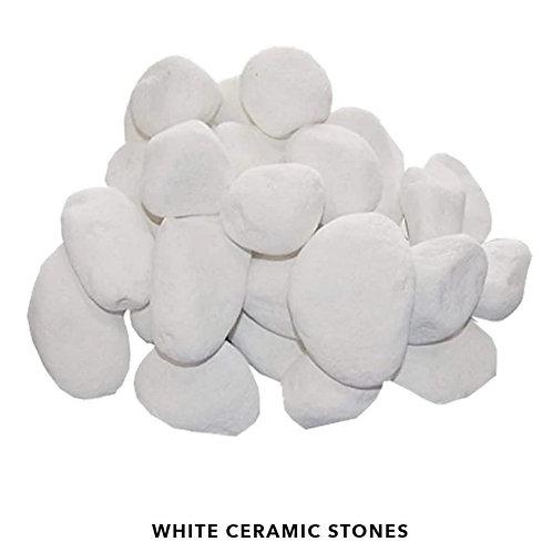 White Ceramic Stones