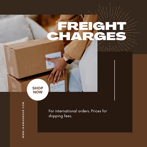 Freight Fees for International Purchase