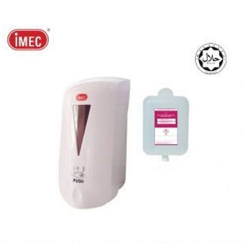 [LIMITED STOCK]IMEC 585S Sanitizer, Halal, SANITIZER WALL MOUNTED CASING + 800ml