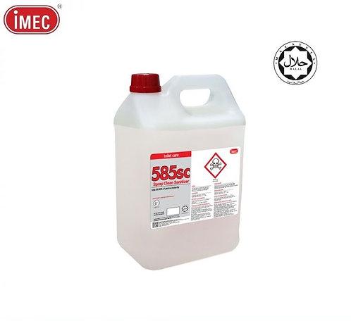 IMEC 585SC Spray Clean Toilet Seat Sanitizer, Halal, 5L X 1 bottle/Carton