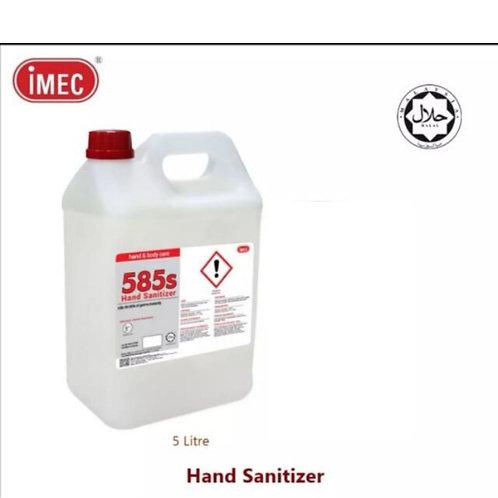 [LIMITED STOCK]IMEC 585S Sanitizer, Halal, 5L