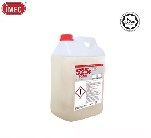 IMEC 525F Foam Hand Soap (Halal),2 x 10L
