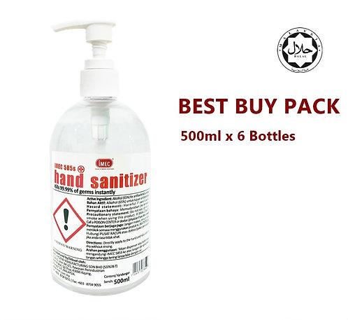[LIMITED STOCK]IMEC 585S Sanitizer,Halal,500mlx 1 bottle