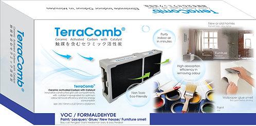 JAF TerraComb VOC/Formaldehyde Odor Removal