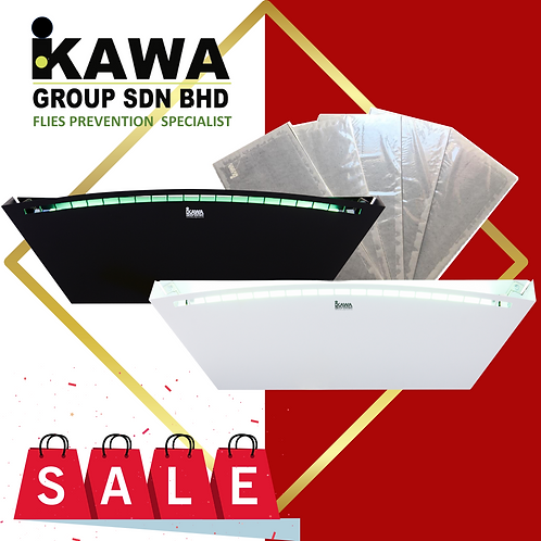 IKAWA IK-TAC700 White Professional Insects Light Trap!