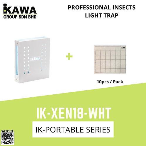 IKAWA IK-XEN18-WHT White  Professional Insects Light Trap