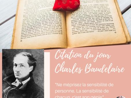 #citation Beaudelaire et la sensibilité