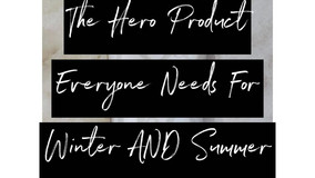 The Hero Product Everyone Needs For Winter AND Summer