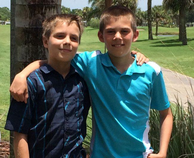 Nathan and Josiah