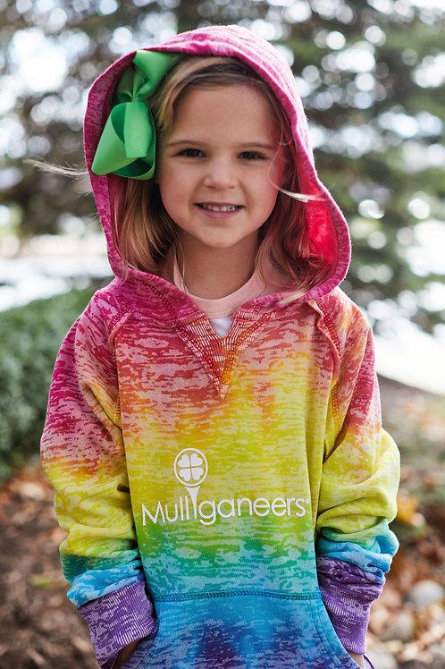 "Hooded Sweatshirt - ""Rainbow"""