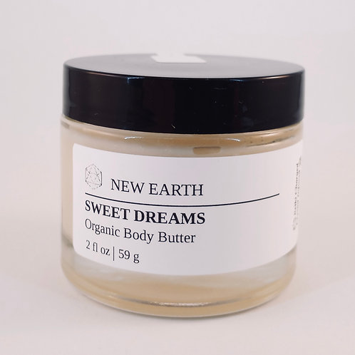"Organic Body Butter ""Sweet Dreams"""