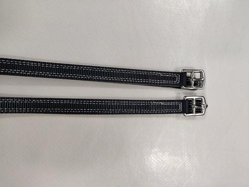 """1/2"""" Terylene web stirrup leathers, fully backed"""