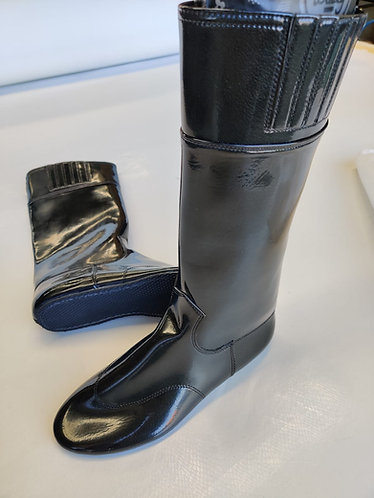 Rubber Sole Pull-On Boots