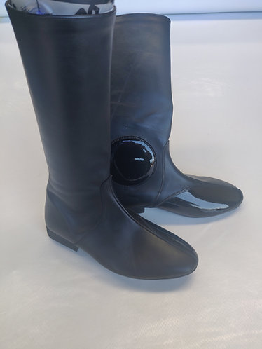 Leather D Type Trackwork Boots