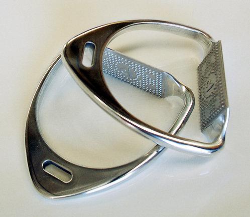 Persuader Aluminium Stirrup Irons