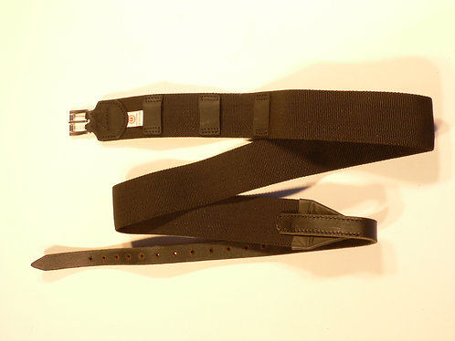 H/Duty All Elastic Surcingle Girth With Grooved Roller Buckles