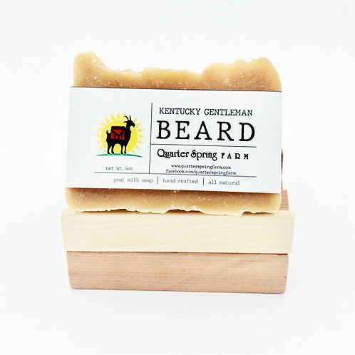 Kentucky Gentleman Beard Soap